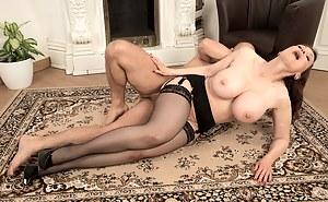 Big Tits Passionate Sex Porn Pictures